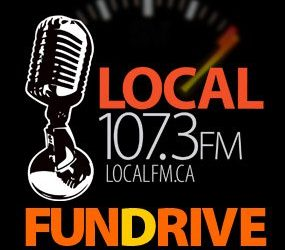 Local 107.3FM Funding Drive 2016: Day One!