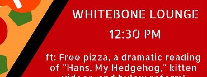 EGM Notification + Pizza Party!